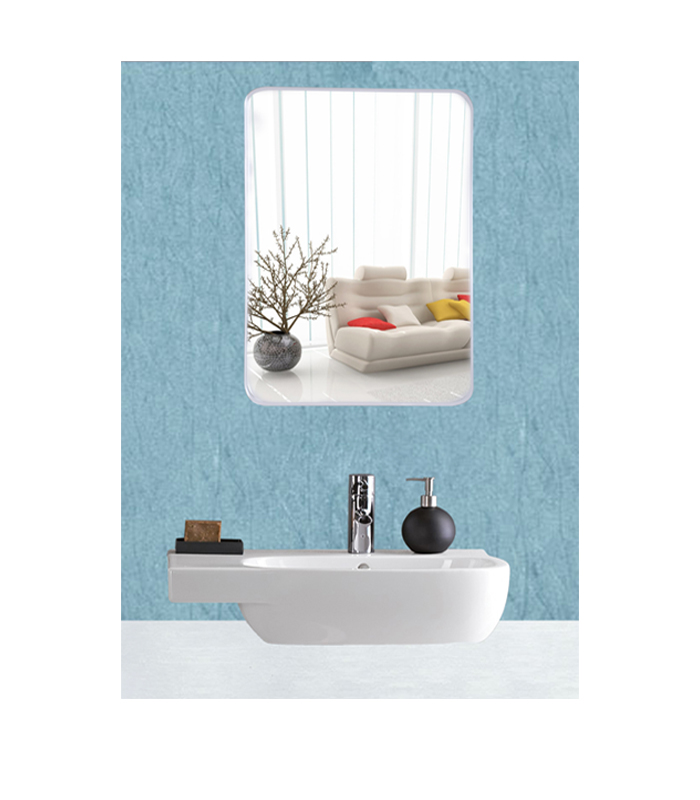 Frameless Mirror Glass For Wall Bath Room Home Decor Size 20 X 14 Inches Eyeonbay Com